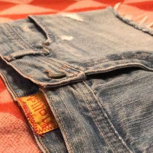 Hollister Co. Denim Skirt (Size 3)